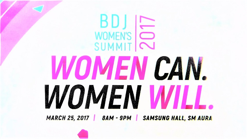 BDJ Women`s Summit 2017 Women Can. Women Will. - Samsung Haul at SM Aura - March 25, 2017 - Events - Lifestyle Blogger - (Image by @TheGracefulMist  www.TheGracefulMist.com)