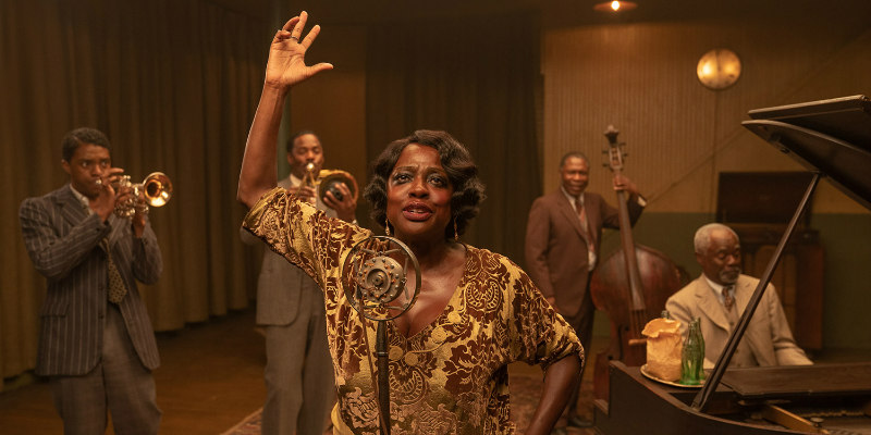 First Trailer and Posters for MA RAINEY'S BLACK BOTTOM, Starring Chadwick Boseman and Viola Davis