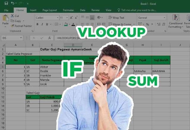 Kumpulan Rumus Microsoft Excel Paling Penting di Dunia Kerja