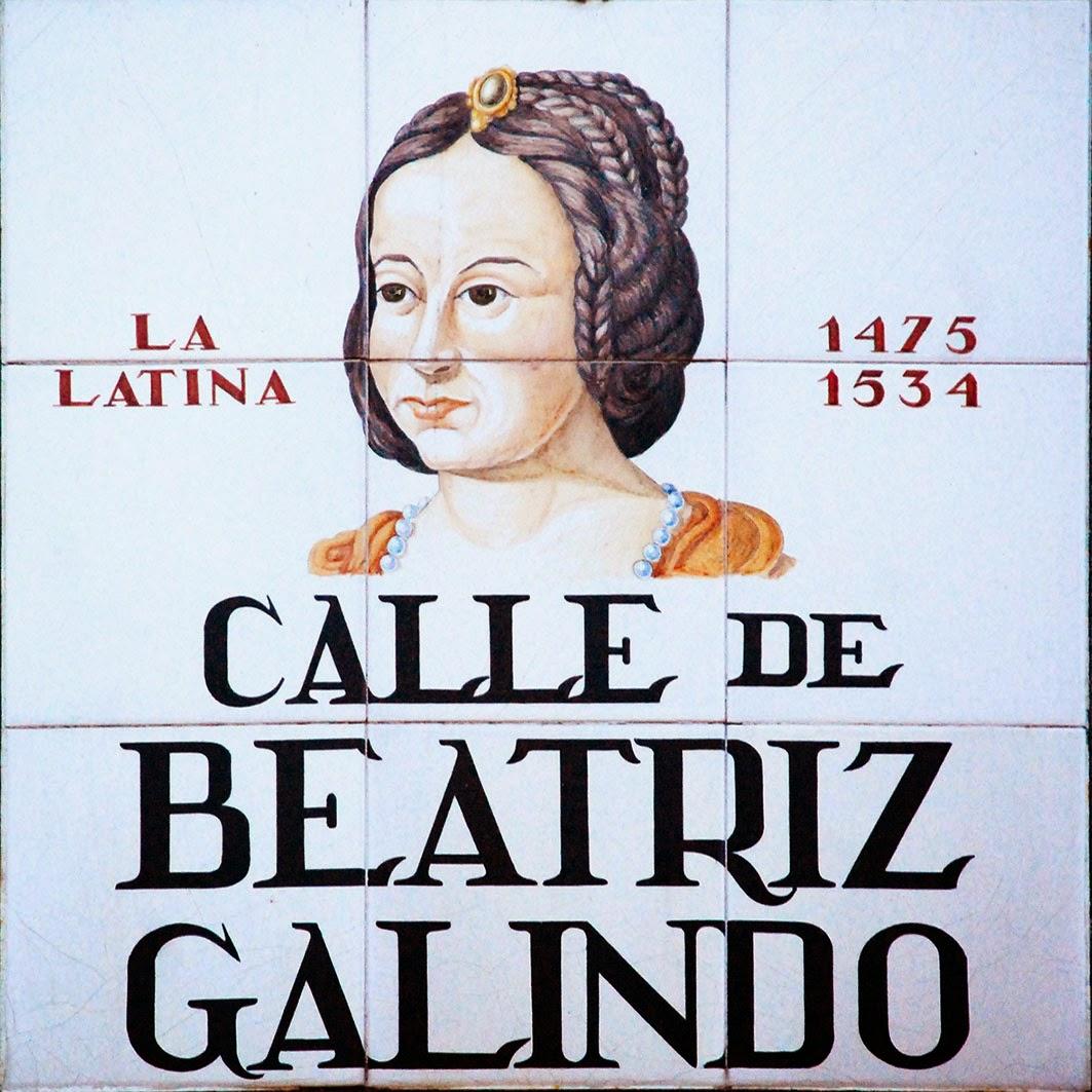 Calle de Beatríz Galindo