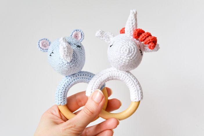 Sonajero  a crochet