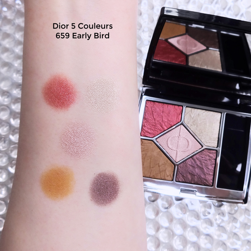 Dior 5 couleurs 659 Early Bird swatches
