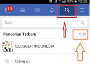 Buat Info - Cara Menghapus Riwayat Pencarian Facebook