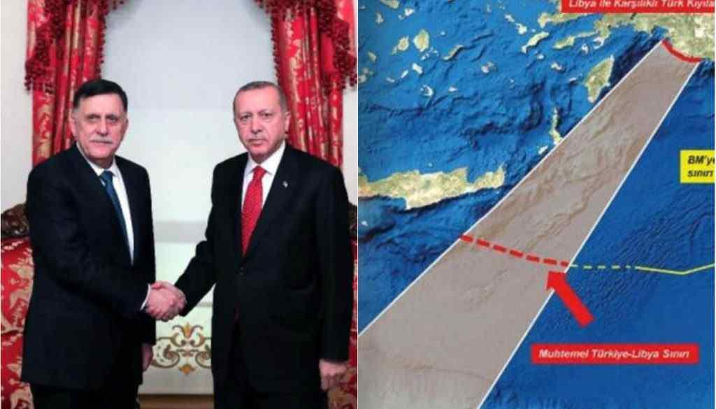 Η στρατιωτική συμφωνία Τουρκίας - Λιβύης κατατέθηκε στην τουρκική Βουλή