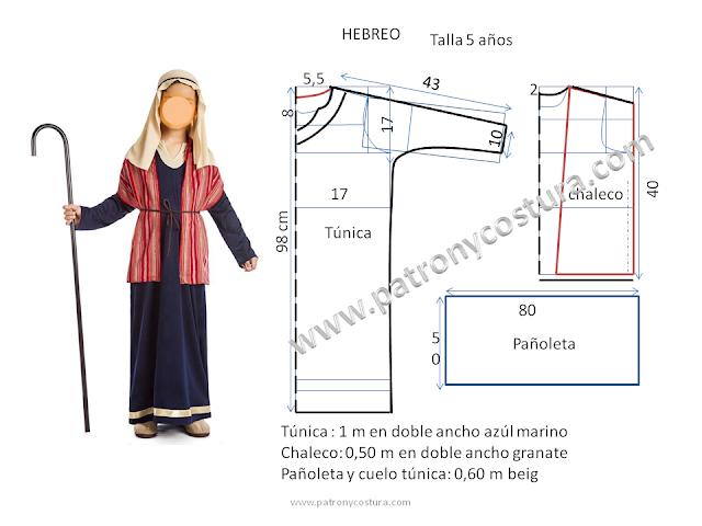 www.patronycostura.blogspot.com/hebreo-disfraz
