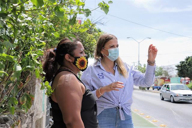 Ante aumento de robos en Vergeles, piden a Cecilia Patrón cámaras de vigilancia