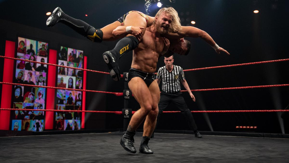 Tyler Bate and A-Kid on WWE NXT UK