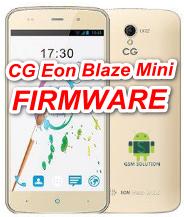 CG Eon Blaze Mini Offical Firmware Stock Rom/Flash file Download
