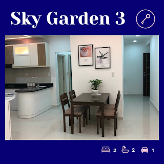 bán căn hộ 2 phòng ngủ sky garden 3 pmh