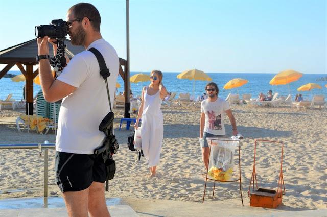 Tel Aviv-i dobszó a tengerparton