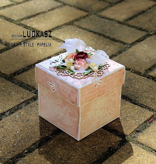 Ślubny exploding box z CiaoBella – DT Craft Style
