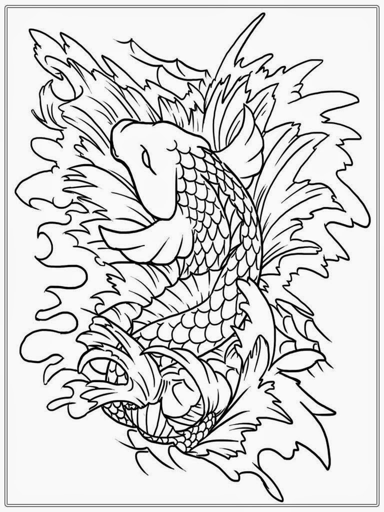 free coloring pages fish - photo#49