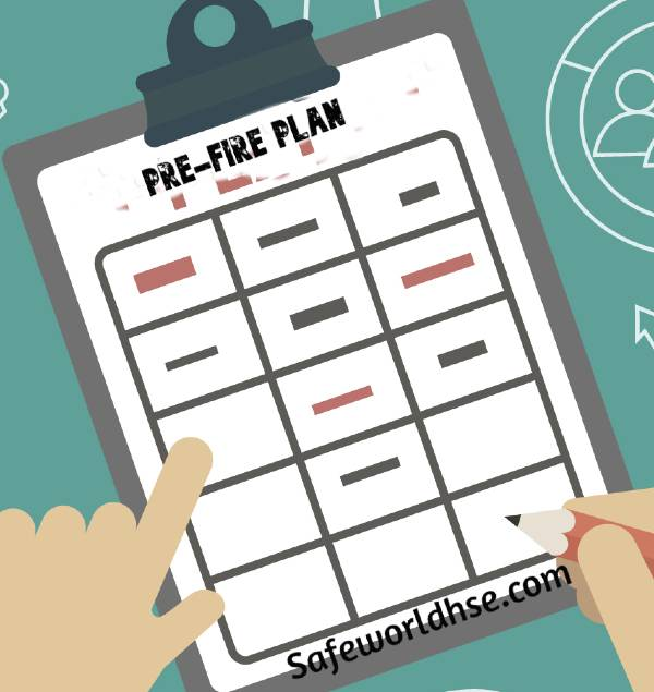 Pre-fire plan for DHDT in oil refinery
