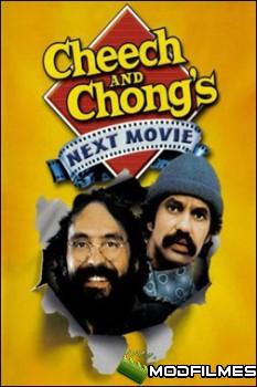 Capa do Filme Cheech e Chong Atacam Novamente