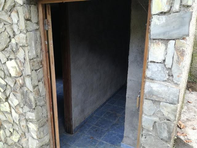 Interior do casa em pedra