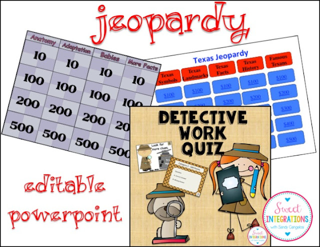 PowerPoint Jeopardy Games