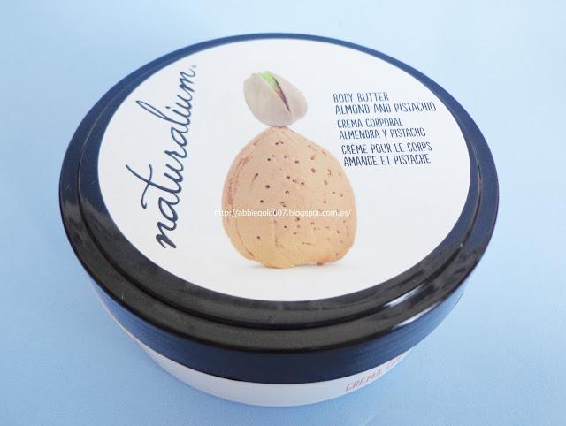 crema corporal almendra pistacho