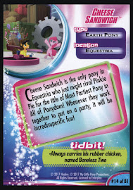 MLP Cheese Sandwich MLP the Movie Trading Card