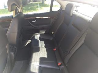 2008 Saab 9-3 interior back seat