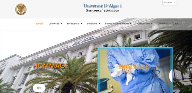 جامعة بن يوسف بن خدة الجزائر 1 - Université d'Alger 1 جامعة الجزائر 1 Université d'Alger 1 جامعة بن يوسف بن خدة الجزائر 1 جامعة الجزائر 1 بن يوسف بن خ