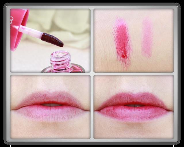 Etude House Dear Darling Water Tint 01 Strawberry Ade Haul Review kbeauty blogger blog beauty korean lip 에뛰드  하우스 디어 달링 워터 틴트