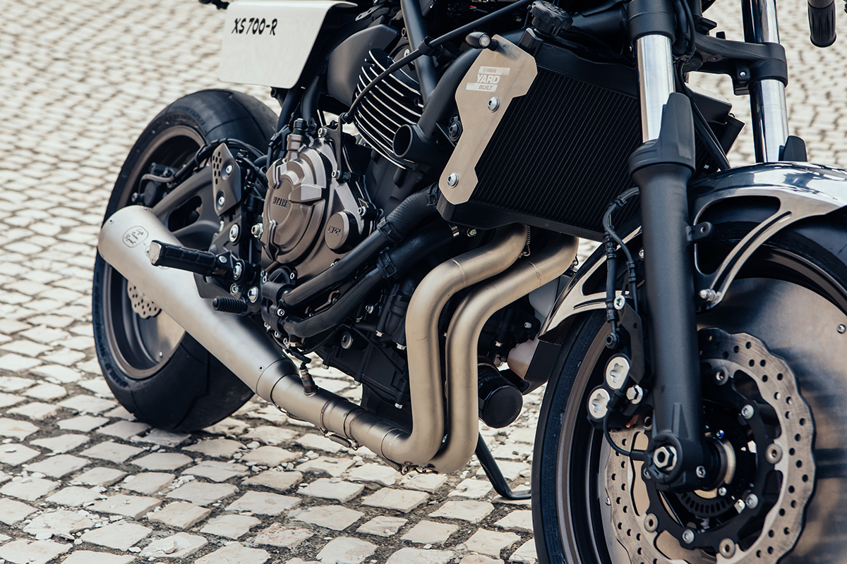 Caferacer Yamaha Xsr700 8