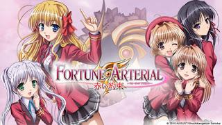 Fortune Arterial: Akai Yakusoku – Todos os Episodios