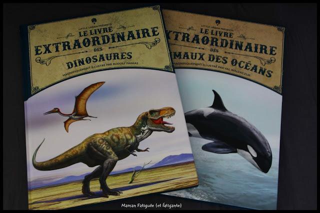 livre extraordinaire animaux océan dinosaures