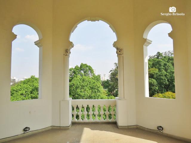 Palacete Basílio Jafet (Vista interna do Mirante)