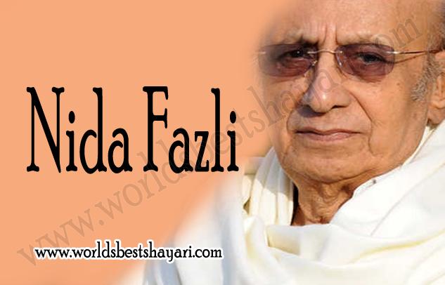 Nida Fazli Biography