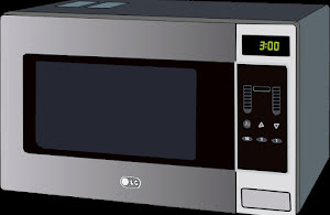 Microwave oven graphic