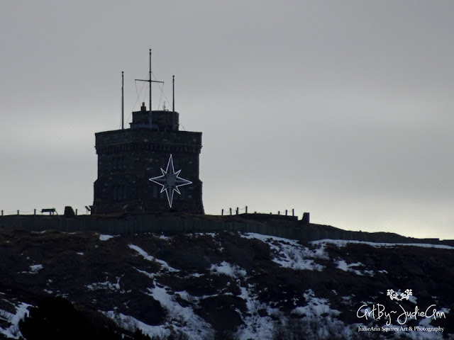 Cabot Tower In Winter