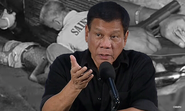 Duterte to investigate suspicious drug-related killings
