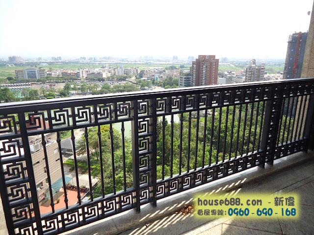 惠宇澄峰 前陽台