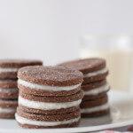 Homemade Oreo Cookies