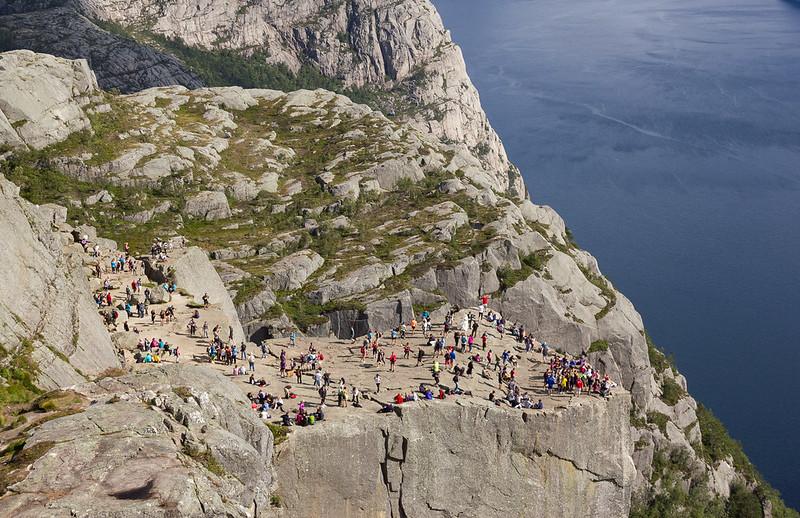 Norway cliffs