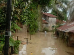 Kampung Semut Tebingtinggi Kembali Dilanda Banjir, Tembok Penahan BPBD Dinilai Tak Efektif