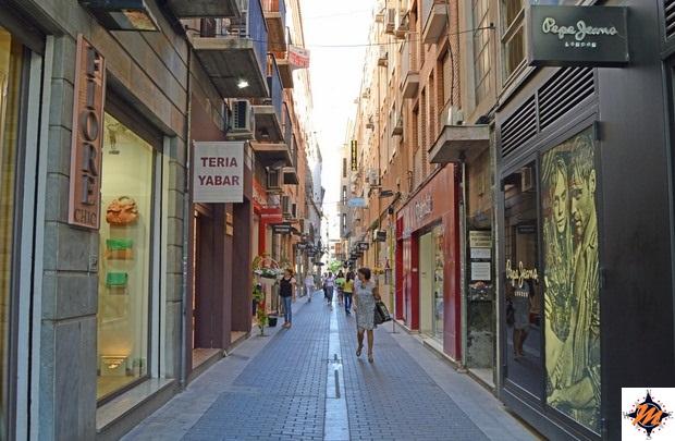 Murcia, centro storico