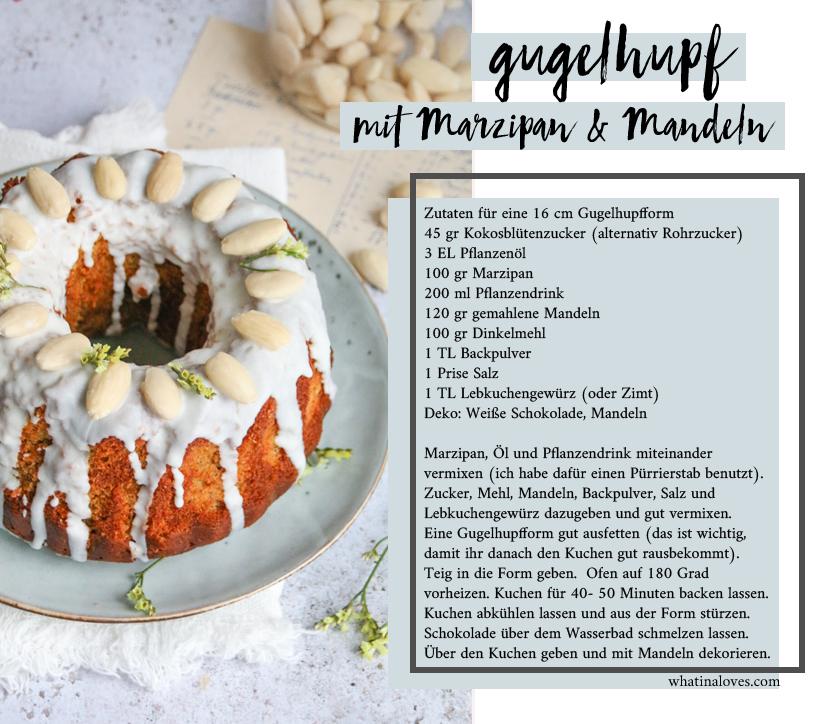 glutenfreier Marzipan-Nuss-Gugelhupf