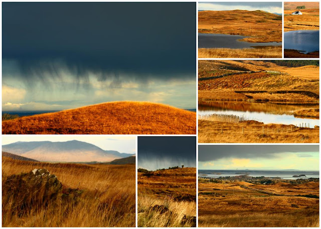 Connemara collage © Annie Japaud Photography, mountains, Connemara, Ireland, nature photography
