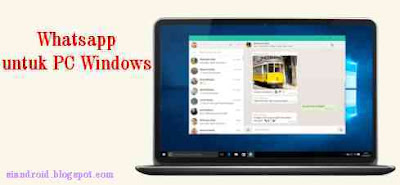 Cara Install Aplikasi WhatsApp versi PC Windows