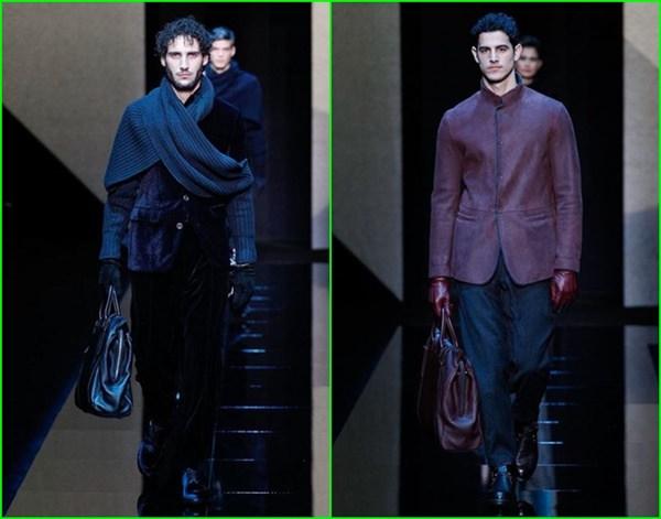 Georgio Armani 2017 Erkek Kaban Modelleri