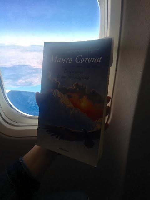 volo, attese, lettture in viaggio, aereo, viaggiare, stagioni, mauro corona