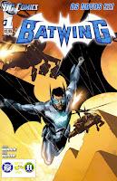 Os Novos 52! Batwing #1