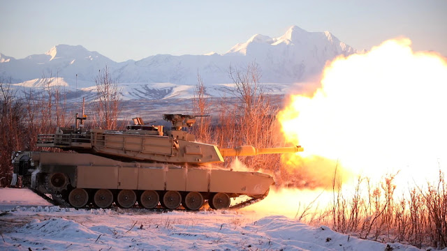 Tank Abrams trong cấu hình mạnh SEPv3