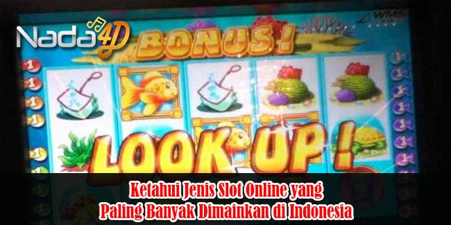 Ketahui Jenis Slot Online yang Paling Banyak Dimainkan di Indonesia