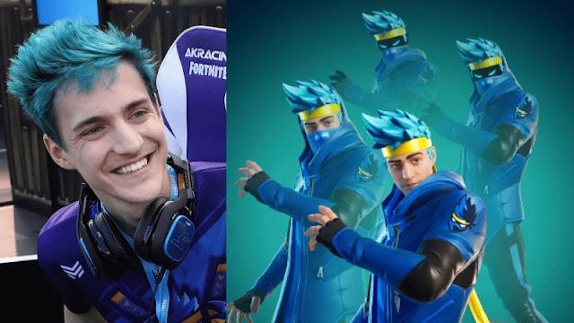 Keren! Karakter Gamer Ninja di Fortnite Kini Sudah Tersedia