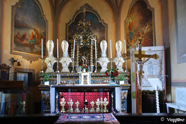 La Chiesa di San Vittore sull'Isola dei Pescatori sul Lago Maggiore