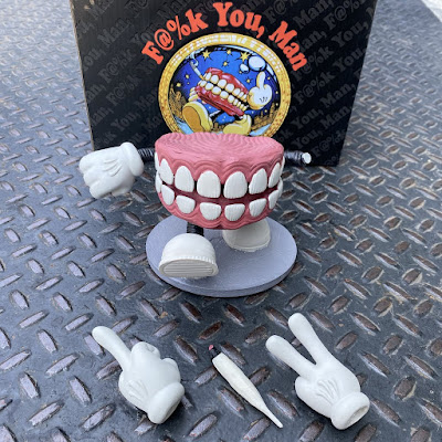 F@%K YOU, MAN Resin Figure by AJ Masthay x Bottleneck Gallery
