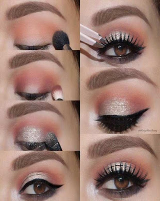 Maquillaje de ojos de NOCHE paso a paso originales y elegantes